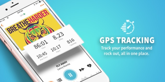 RockMyRun GPS Tracking