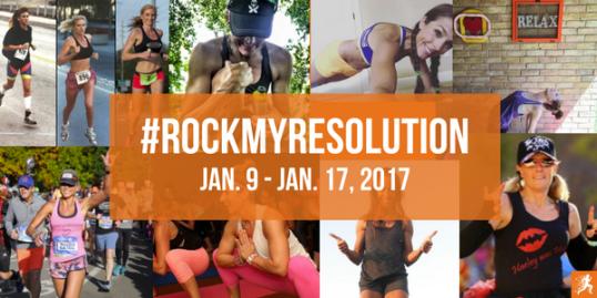 #rockmyresolution RockMyRun New Year's Campaign